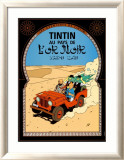 Tintin au Pays de l&#39;Or Noir, c.1950 Poster par Herg&#233; (Georges R&#233;mi) 
