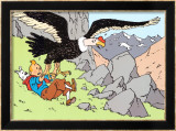 Tintin and the Condor Posters by Hergé (Georges Rémi)