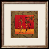 Sun Tribe I Prints by Kamba