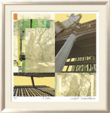 Light And Steel 15 Limited Edition Framed Print by Peter Kitchell