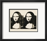 Double Mona Lisa, c.1963 Prints by Andy Warhol