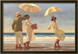 The Picnic Party II Poster von Jack Vettriano