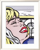 Shipboard Girl Affiches par Roy Lichtenstein