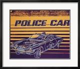 Police Car, c.1983 Plakat af Andy Warhol