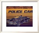 Police Car, c.1983 Arte por Andy Warhol