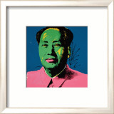 Mao, c.1972 (Green) Posters par Andy Warhol