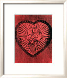 Heart with Bow, c.1983 Posters by Andy Warhol
