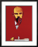 Red Lenin, c.1987 Print by Andy Warhol