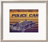 Police Car, c.1983 Plakater af Andy Warhol