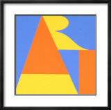 Atlanta-ART, 1972 Limited Edition Framed Print by Robert Indiana