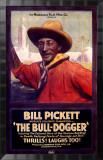Bill Pickett the Bull-Dogger Framed Giclee Print