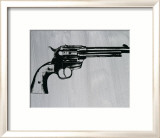 Gun, c.1981 Poster by Andy Warhol