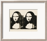 Double Mona Lisa, c.1963 Affiches par Andy Warhol