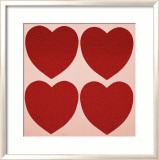 Hearts, c.1979-84 Affiches par Andy Warhol