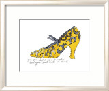 Yellow Pattern Shoe, c.1955 Poster par Andy Warhol