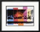 Detail des letzten Abendmahls, ca. 1986 Poster von Andy Warhol