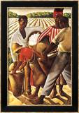 Cotton Pickers Poster by Earle Wilton Richardson