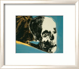Skull, c.1976 (yellow on teal) Prints by Andy Warhol