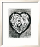 Heart with Bow, c.1983 Prints by Andy Warhol
