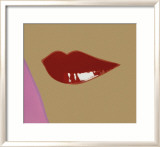 Page from Lips Book, c.1975 Prints by Andy Warhol