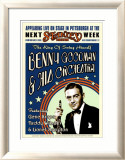 Benny Goodman Orchestra at the Stanley Theatre, Pittsburgh, Pennsylvania, 1936 Art by Dennis Loren