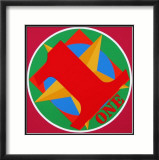 One Prints by Robert Indiana