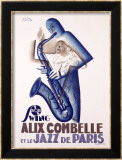 Alix Combelle Lmina gicle enmarcada por Paul Colin