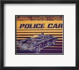 Police Car, c.1983 Lámina por Andy Warhol