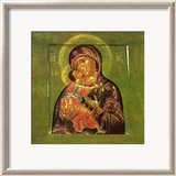 God&#39;s Mother Print