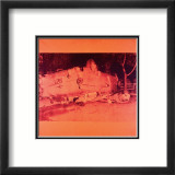 Five Deaths on Orange (Orange Disaster), c.1963 (orange car) Plakater av Andy Warhol