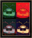 Mercedes Benz C111, 1970 Affiches par Andy Warhol