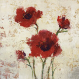 Simply Floral I Prints by Tim O&#39;toole
