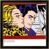 In the Car, c.1963 Poster von Roy Lichtenstein