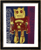 Moon Explorer Robot, c.1983 Art par Andy Warhol