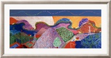 Mulholland Drive: The Road to the Studio Print by David Hockney