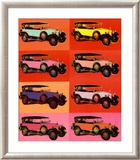 Mercedes Type 400, 1925 Print by Andy Warhol