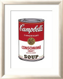 Campbell&#39;s Soup I: Consomme, c.1968 Art by Andy Warhol