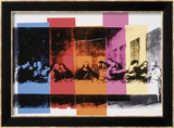 Detail of the Last Supper, c.1986 Posters by Andy Warhol