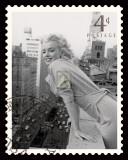 Movie Stamp I Print by  The Vintage Collection