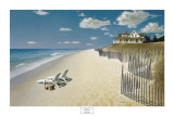 Beach House View Prints by Zhen-Huan Lu
