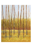 Tall Trees II (right) Print by Libby Smart
