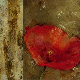 Gilded Floral III Print by  Georgie