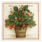 Fraises des Jardins Poster by Vincent Jeannerot