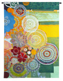 Lace Curve Wall Tapestry by Jeanne Wassenaar
