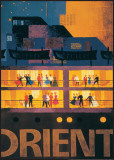 Orient Line to Australia, Pacific ,North America and Far East Art by Fritz Buhler