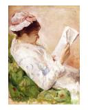 La Liseuse Impression giclée par Mary Cassatt