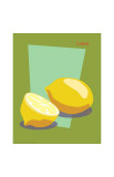 Lemon Giclee Print by  ATOM