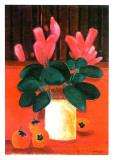 Le Bouquet Rouge Prints by Jacques Petit