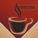 Espresso Prints by L. Morales