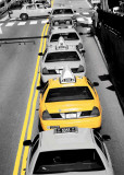 Yellow Cab II Posters by Cesano Boscone